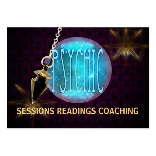 PSYCHIC II - Business, Schedule Card Large Business Cards (Pack Of 100)