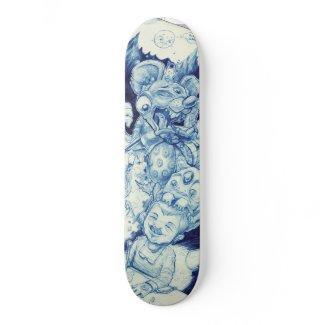 Psychic Leakage skateboard