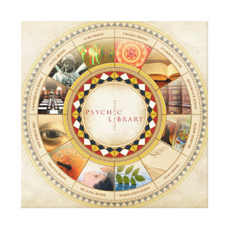 Psychic Library Canvas Print