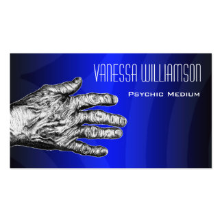 Psychic Medium Professional Blue Business Card
