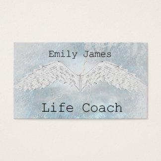 Psychic Medium Spiritual Tarot Life Coach Healer Business Card