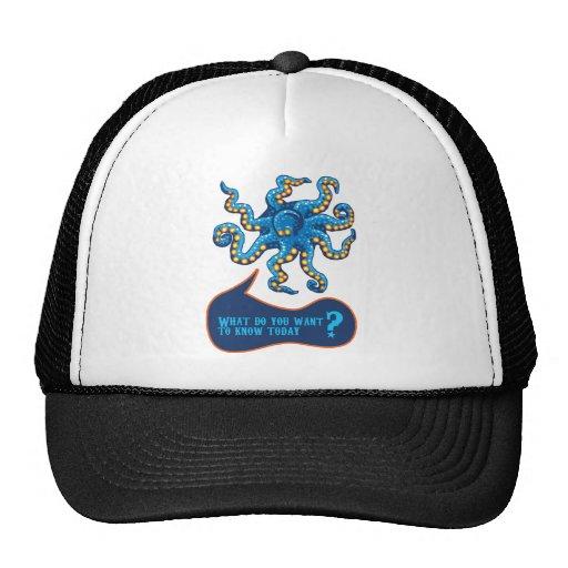 Psychic Octopus Trucker Hat