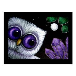 PSYCHIC OWL AMETHYST CUSTOMIZE Postcard