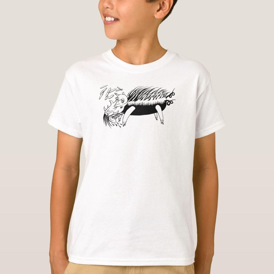 Psychic Pig T-shirt - Comfortable Kids' Long Sleeve T-Shirt Designs