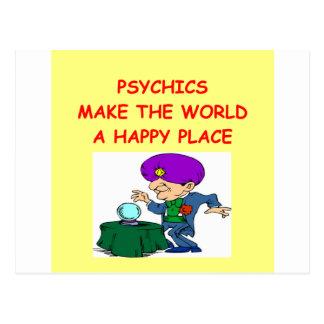 psychic post card