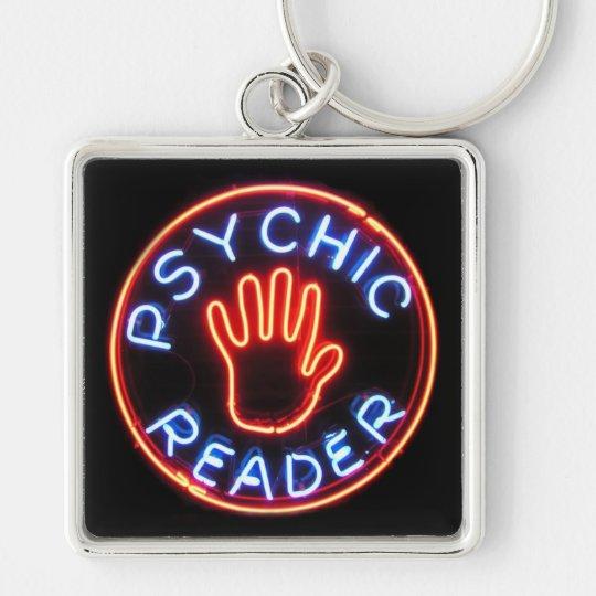 Psychic Reader Neon Sign Keychain