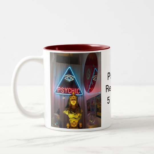 Psychic Readings 5 Cents Two-Tone Coffee Mug
