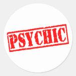 Psychic Round Stickers
