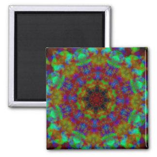 Psychic Signs mandala kaleidoscope magnet