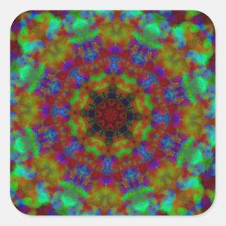 Psychic Signs mandala kaleidoscope stickers