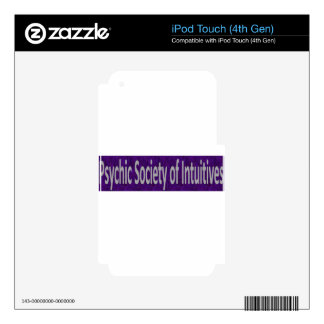 Psychic Society of Intuitives store Decals For iPod Touch 4G