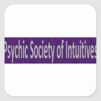 Psychic Society of Intuitives store Square Sticker