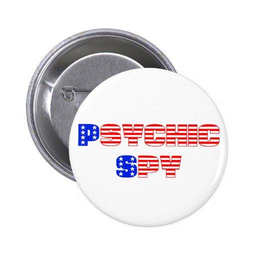 Psychic Spy Pin