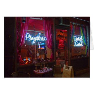 Psychic Storefront Note Cards