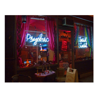 Psychic Storefront Postcard