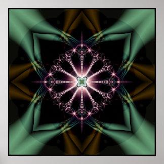 psychic undergrowth print