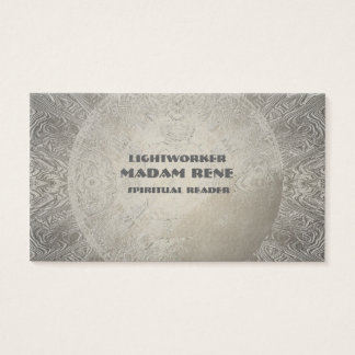 Psychic Yoga Reiki Moon Lightworker Business Cards