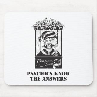 Psychics Know the Answers Mouse Pad