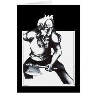 Psycho Axeman Card