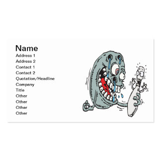 Psycho Bowling Double-Sided Standard Business Cards (Pack Of 100)