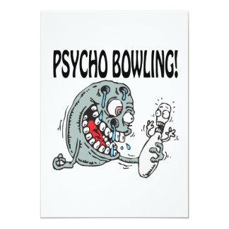 Psycho Bowling Card