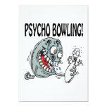Psycho Bowling Invitations