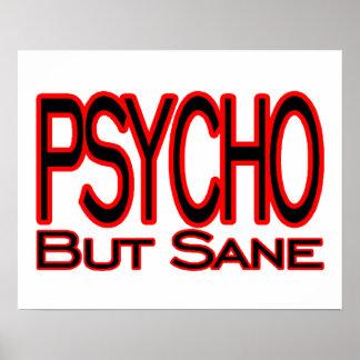 Psycho But Sane Poster