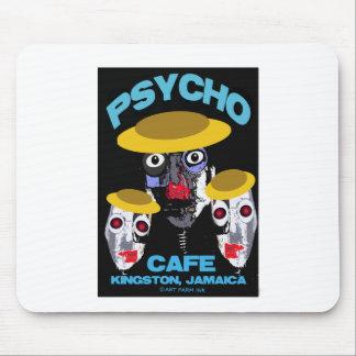 Psycho Cafe Mouse Pad
