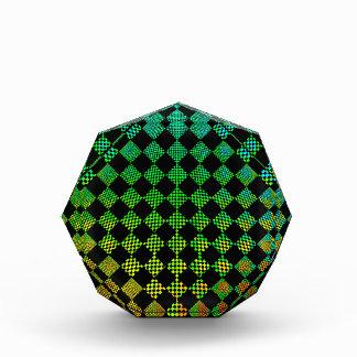 Psycho Checkers Checkers Acrylic Award