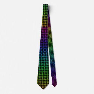 Psycho Checkers Neck Tie