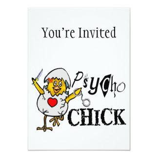 Psycho Chick Card