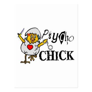 Psycho Chick Postcards