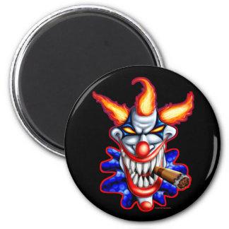 Psycho Clown Magnet