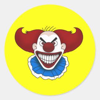 Psycho Clown Stickers