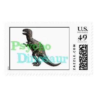 Psycho Dinosaur Postage