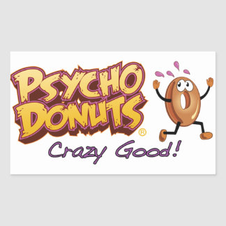 Psycho Donuts Stickers