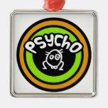 Psycho Doodle Ornament