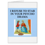 psycho drama queen cards