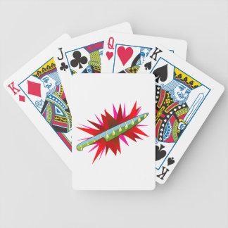 Psycho Duck Poker Cards