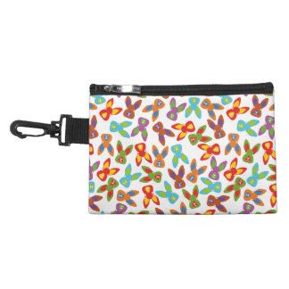 Psycho Easter Pattern colorful Accessory Bag