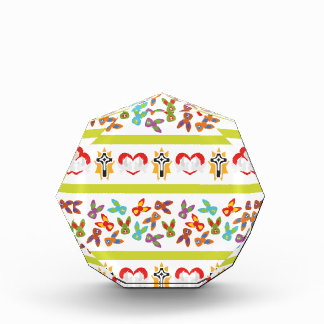 Psycho Easter Pattern colorful Award