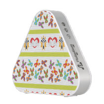 Psycho Easter Pattern colorful Bluetooth Speaker