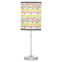 Psycho Easter Pattern colorful Desk Lamp