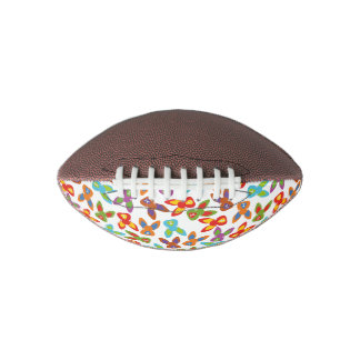 Psycho Easter Pattern colorful Football