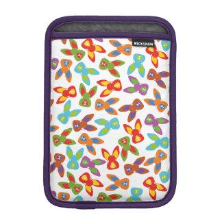 Psycho Easter Pattern colorful iPad Mini Sleeve