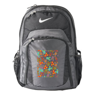 Psycho Easter Pattern colorful Nike Backpack