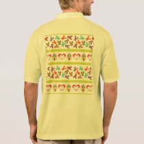 Psycho Easter Pattern colorful Polo Shirt