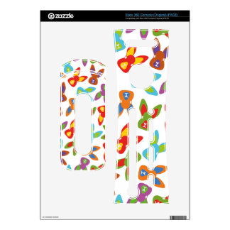 Psycho Easter Pattern colorful Xbox 360 Console Decals