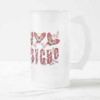 Psycho Frosted Beer Mug