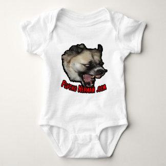 Psycho Herman .com Baby Bodysuit